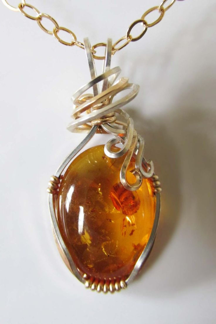 550 best jewelry amber 1 images on pinterest amber jewelry wire wrapped baltic amber pendant aloadofball Images