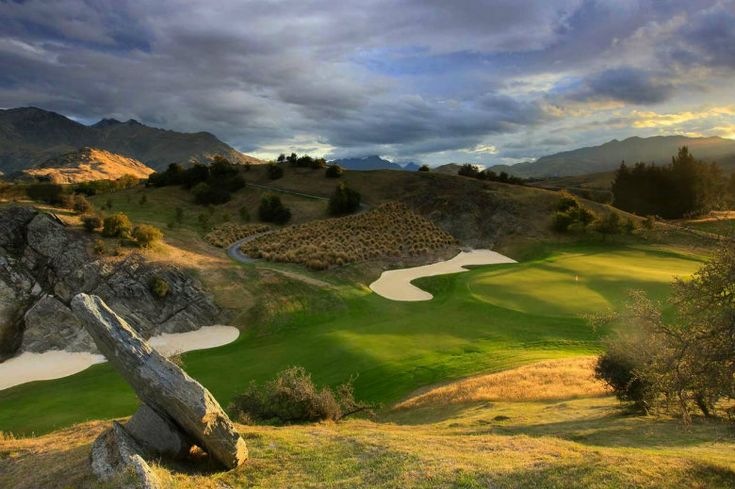 For the golfers out there, some information on where to play in New Zealand