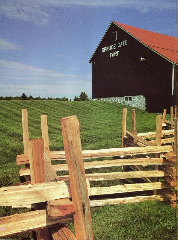 9 best fence images on pinterest split rail fence fences and harrowsmith country life do it yourself the rail way solutioingenieria Images