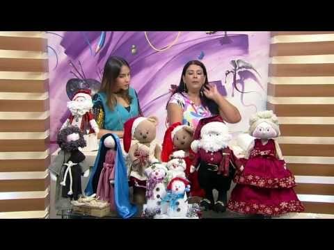 Mulher.com - 09/11/2016 - Papai Noel porta talheres - Silvia Torres P1 - YouTube