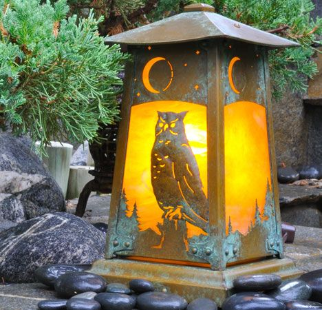 Old California Lantern - Arts & Crafts Homes and the Revival — Arts & Crafts Homes and the Revival