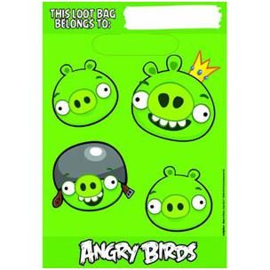 A373710 - Angry Birds Loot Bags Please note: approx. 14 day delivery time. www.facebook.com/popitinaboxbusiness