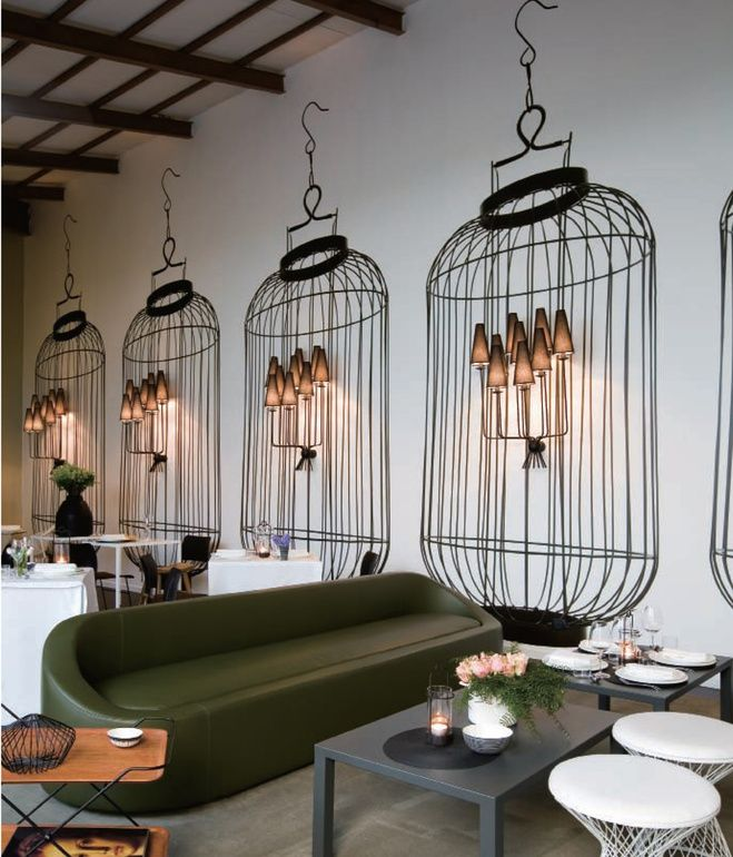 In Milan, Italy--home of the annual Salone Internazionale del Mobile furniture fair--Home Delicate Restaurant offers home-cooked meals in...