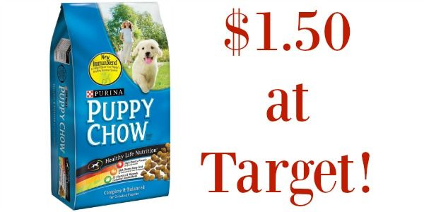Target: Purina Puppy Chow Only $1.50!