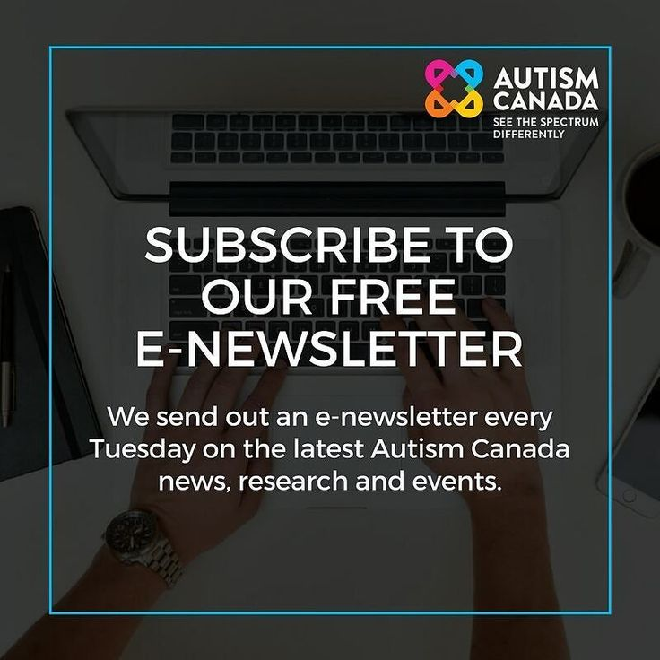 Join over 4200 subscribers today (link in bio). The next email goes out tomorrow and we have everything you need to know about Canadian Autism Awareness and Acceptance Month.