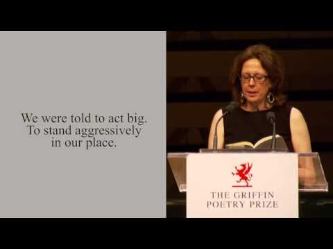 """Poet Sue Goyette reads the poem """"Forty-Eight"""" from her poetry collection """"Ocean"""", shortlisted for the 2014 International Griffin Poetry Prize. The reading took place at Koerner Hall in Toronto, Canada on June 4, 2014."""