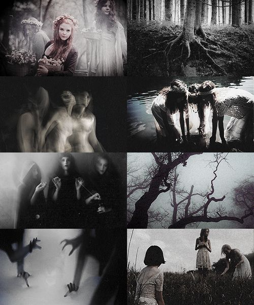 Norse Mythology:  The Norns are female beings who control the destinies of gods and mortals. The most important of these beings are Urd (Fate), Skuld (Being), and Verdandi (Necessity). They guard the well Urðarbrunnr, located beneath Yggdrasil in Asgard, keeping the World Tree healthy by pouring water and mud from the well on its roots. In other myths, there is a Norn present at every birth, and she has control over how the newborn's life with unfold.