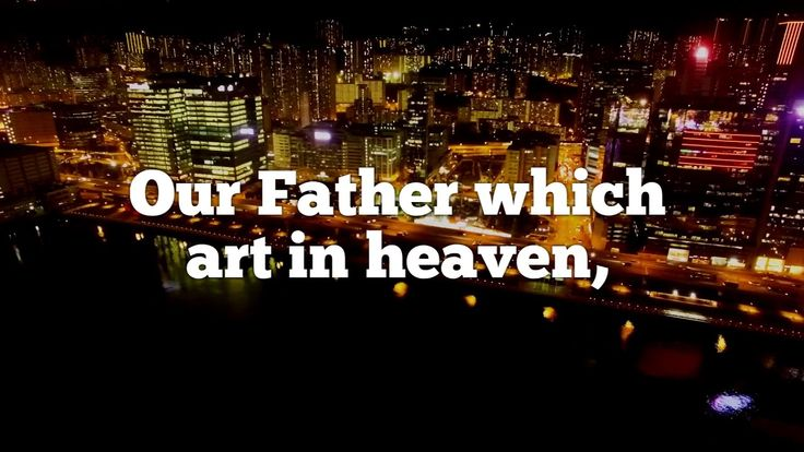 Matthew 6:9-13 - YouTube