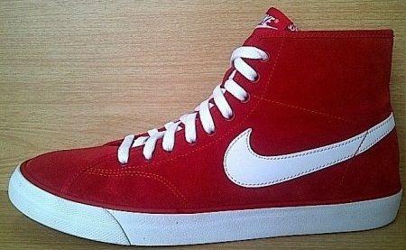 Kode Sepatu: Nike Primo Court Hi Red White  Ukuran Sepatu: 40 , 43 Harga: Rp. 460.000,- Untuk pemesanan hub 0831-6794-8611