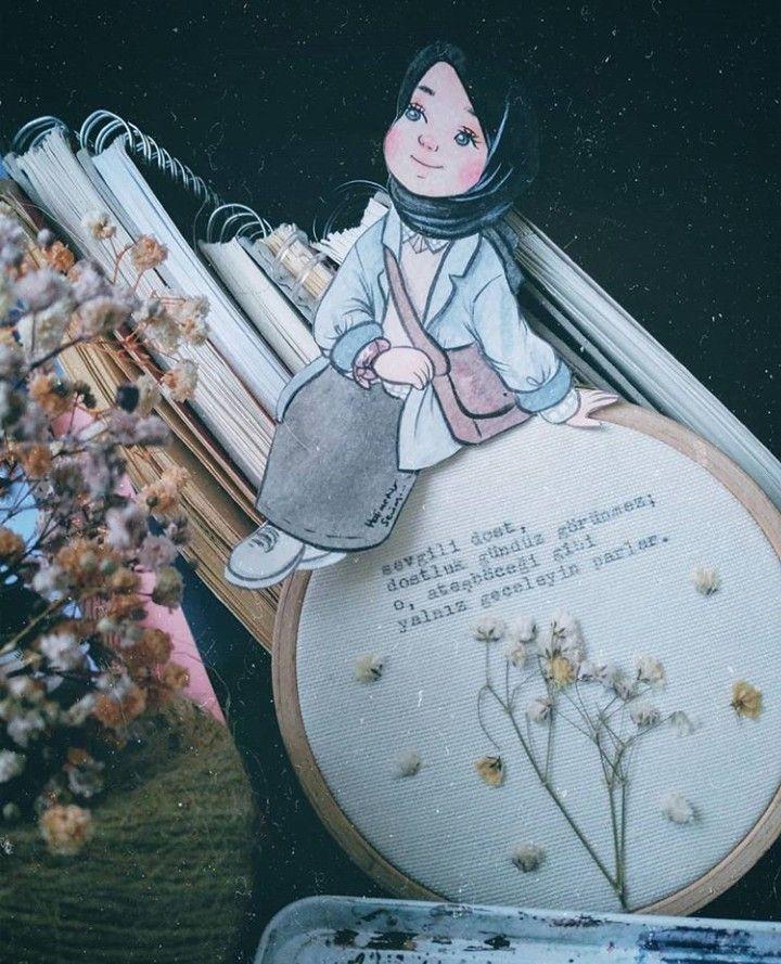 Pin Oleh صورة و كلمة Di Hijab Graphic Dengan Gambar