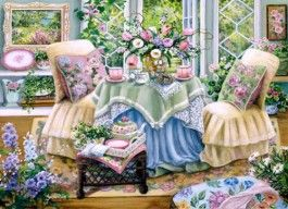 Spring Tea - Traditions - Open Edition Art - Gallery