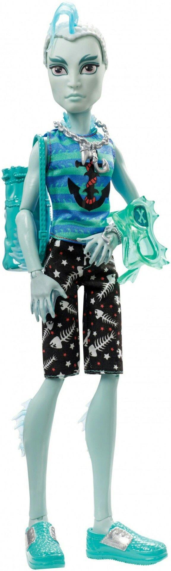 """Monster High Shriek Wrecked Gillington """"Gil"""" Webber"""