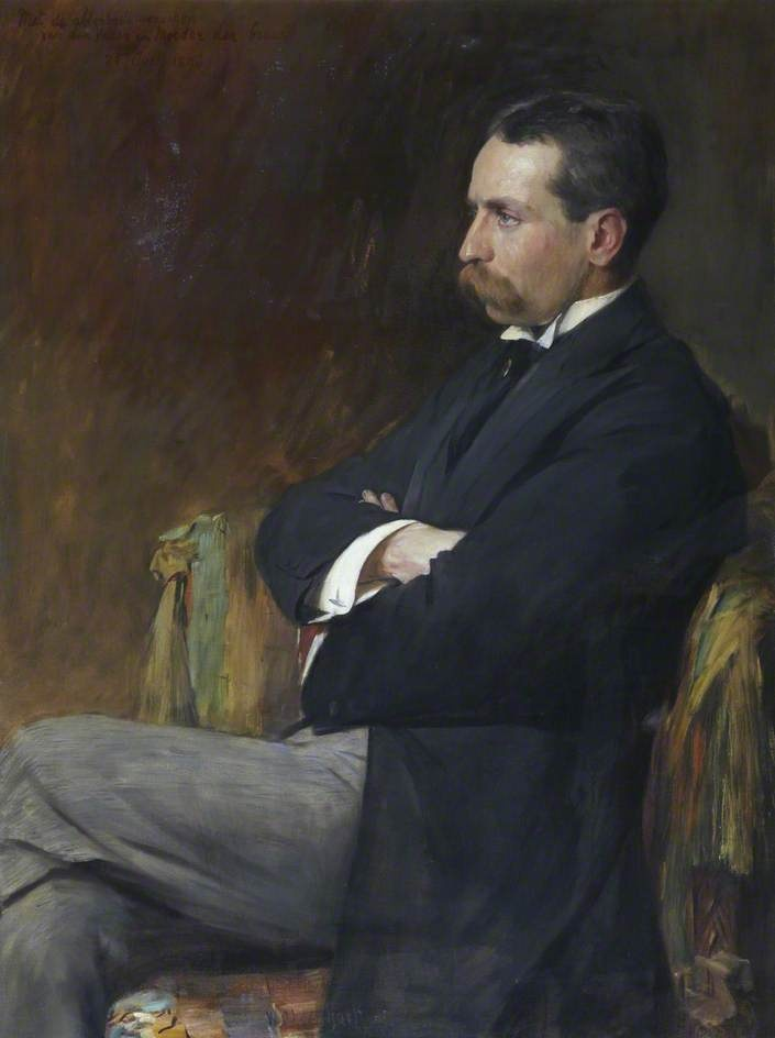 F. C. Goudsmit by William Ewart Lockhart (Fife Council) #movember