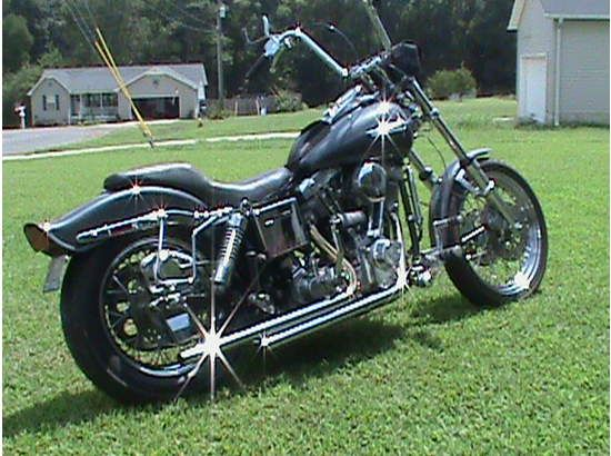 1980 Harley Davidson Wide Glide - my husband had one of these and we put many, many miles on it.