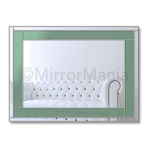 Spectrum Original Handcrafted Coloured Glass Range Of Mirrors