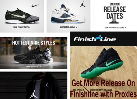 Now lots of internet marketer use the proxies for getting cheap Nike, adidas  Shoes and