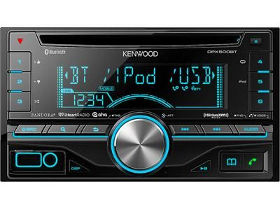 Kenwood DPX500BT Double DIN In-Dash Car Stereo thecarmania.com