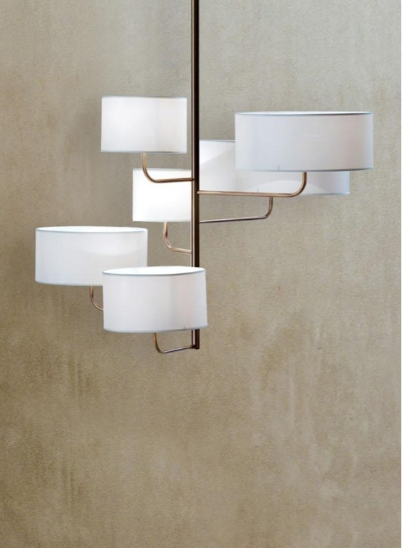 Moving pendant by Borbonese Casa