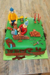 lekker zoet: Buurman en Buurman taart voor Wout 4 jaar....