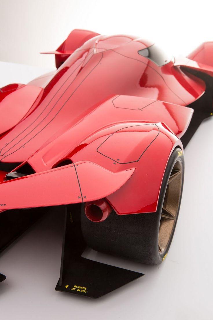 Futuristic Ferrari Le Mans Prototype Renderings Are Sensational