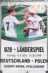 Geberit Stadion Pfullendorf BauFachForum Baulexikon. U20 - Länderspiel Deutschland Polen.