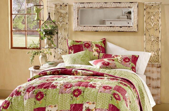 Shabby chic quilt bedroom dormitorios de ensue o - Dormitorio shabby chic ...