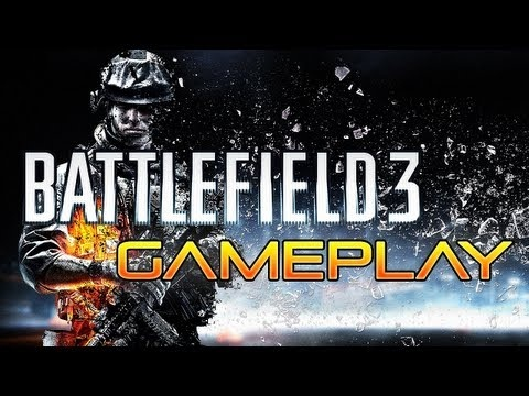 Battlefield 3 Gameplay - Rock and a Hard Place (PS3)