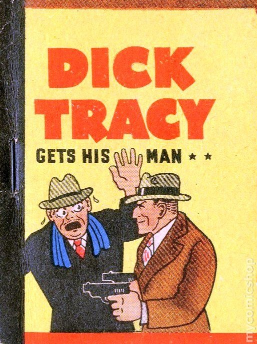 Any case. authorized collectible dick guide tracy question