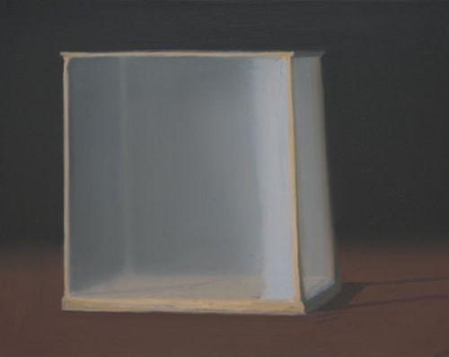 Vitrine | Oil on canvas | Size 40cm x 50cm