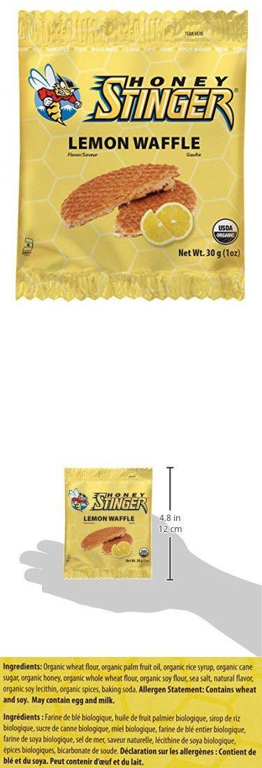 Honey Stinger Organic Waffle, Lemon, 1 Ounce (Pack Of 16)
