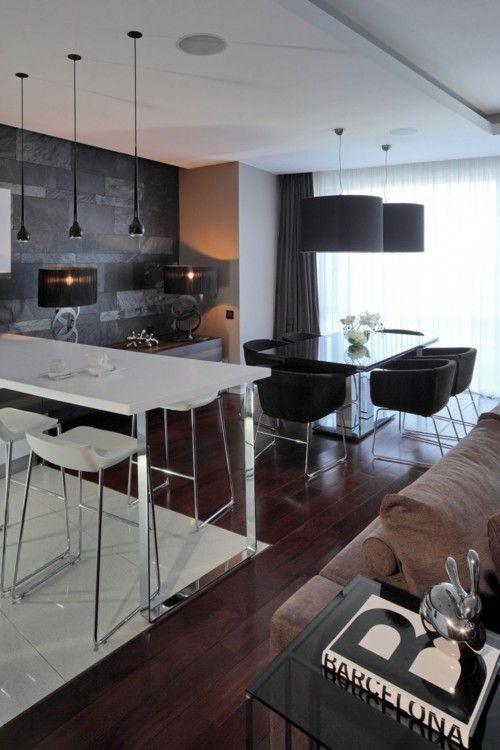 Decor Ideas, Living Room Ideas, Design Interiors, Interiors Design, Studios Apartments, Blog Design, Dining Tables, Apartments Interiors, Apartments Design