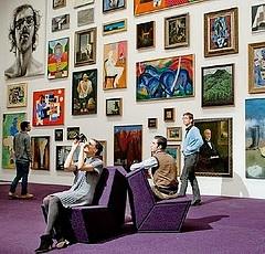 cool art gallery