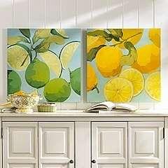 Lime And Lemon Prints