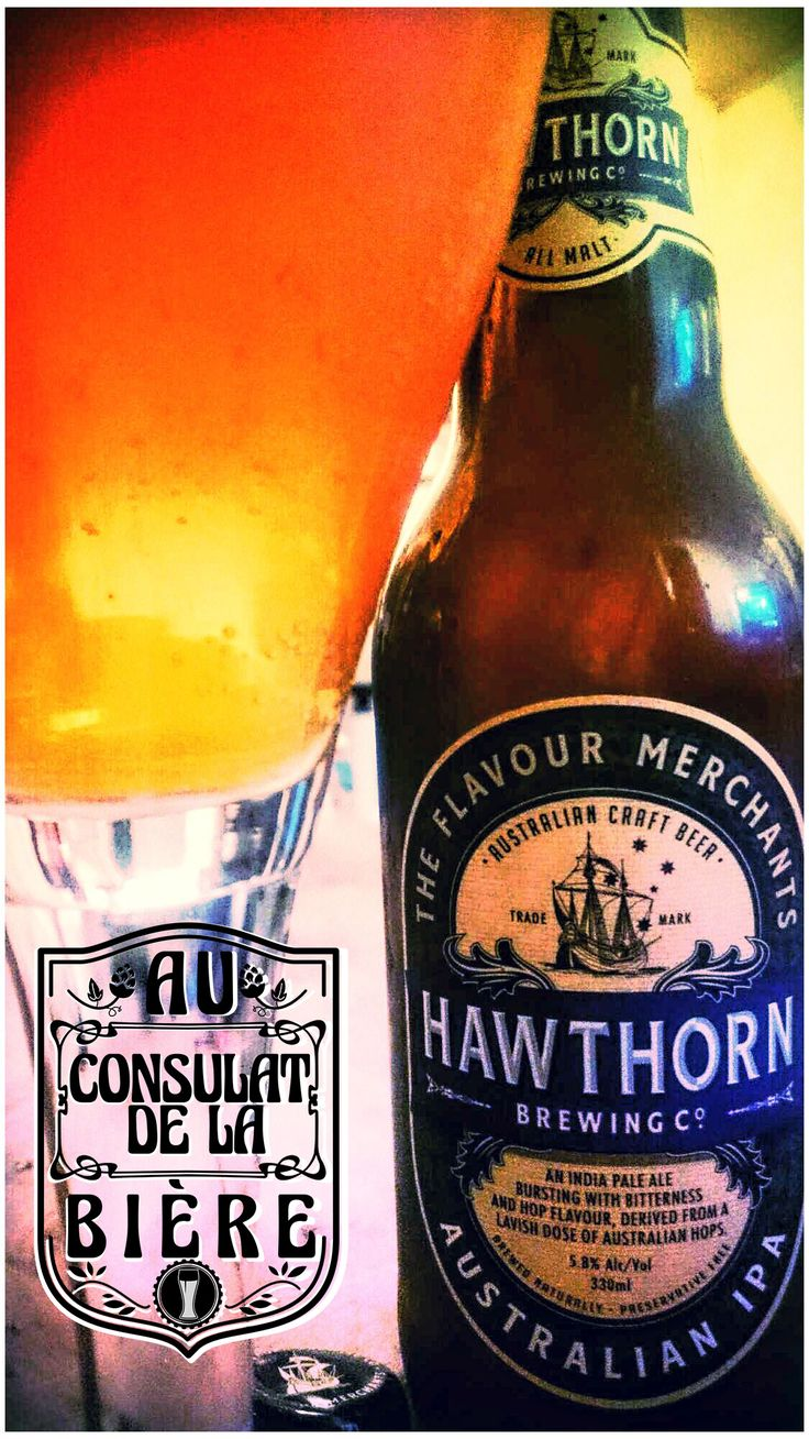 Hawthorn IPA, biere australie, au consulat de la biere