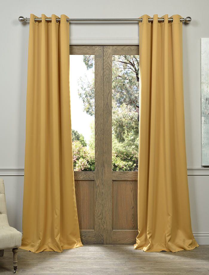 buy marigold grommet blackout curtains and drapes at best prices find solid blackout curtains for home decor