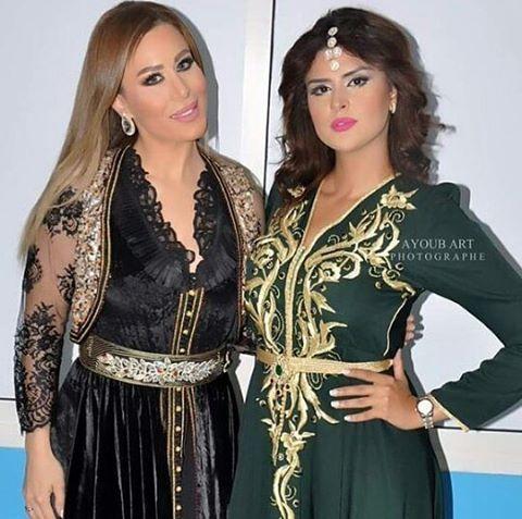 @vivianemrad @salmarachid.official لباس فيفيان من @zahrayaagoubi لباس سلمى من @hanaa_caftan Email ...
