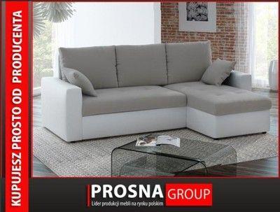 Narożnik rogówka FLORO sofa z funkcją spania