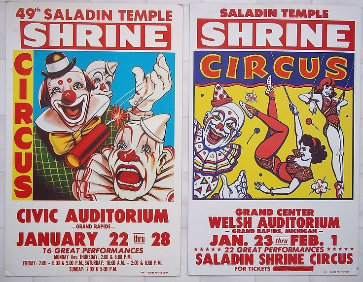 1906: Nation's First Shrine Circus Held in Detroit