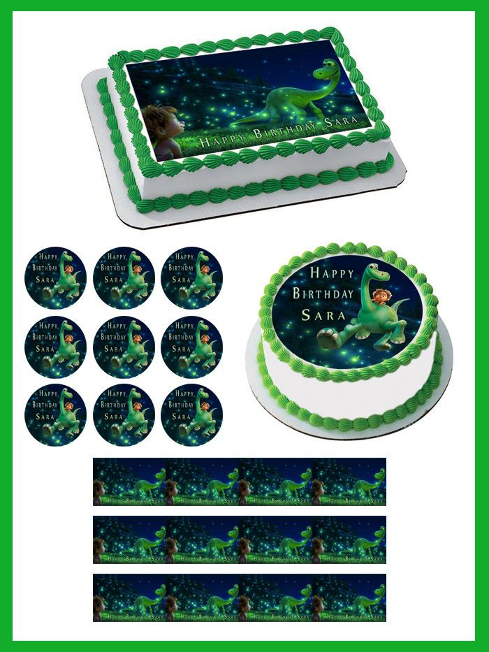 Edible Cake Decorations Target : 92 best The Good Dinosaur Party images on Pinterest The ...