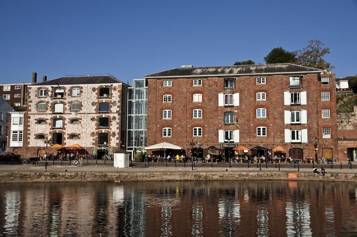 Exeter Quayside and restaurants