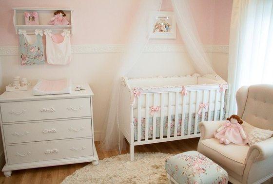 Quarto de Bebê Lorena - Linha Provençal - Tulipa Baby