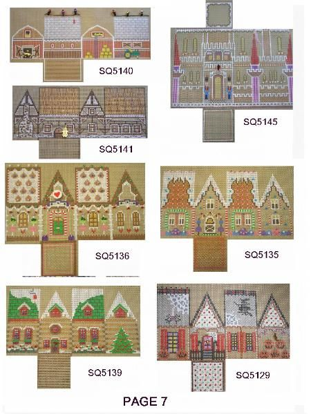 cottages from Gail Hendrix (squigee)