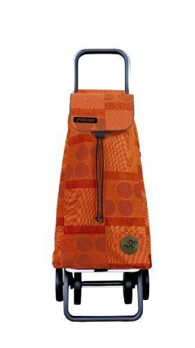 Rolser Pack Logos Logic Shopping Trolley, Mandarina by ROLSER. $80.34. 100% polyester. Very strong and large capacity. Easy to fold up and to unfold. Logic 2+2 shopping trolley quick transform from 2 or 4 wheels; waterproof; brand name: rolser. Trendy shopping trolley. Light and modern; fashion item. Logic 2+2 quick transforms from 2 or 4 wheels; with two types of automatic folding systems, through two buttons. Takes up minimum space when folded, fits everywhere. Easy to ...