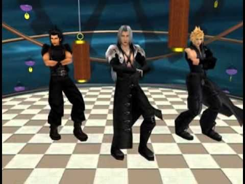 [MMD] - Gangnam Style - FFVII - Sephiroth, Cloud & Zack