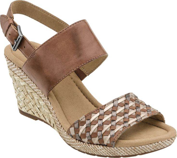 Gabor Espadrille Wedge Sandal at PlanetShoes.com.