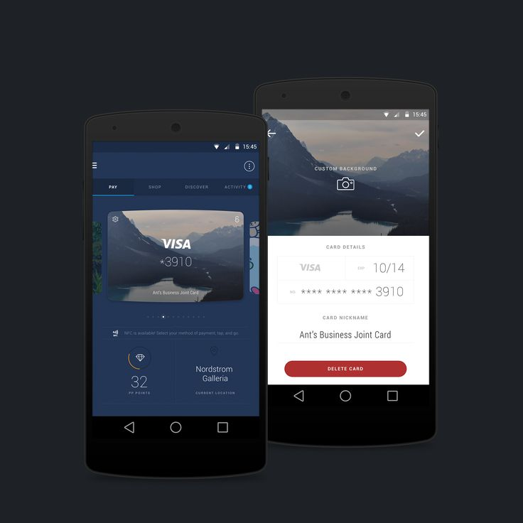 Wallet Concept for Android