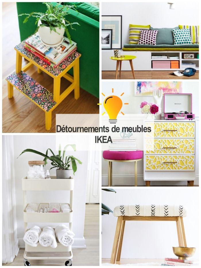 1001 Idees Pour Reussir Un Projet De Detournement De Meuble Ikea Detournement Meuble Ikea Meubles Ikea Ikea