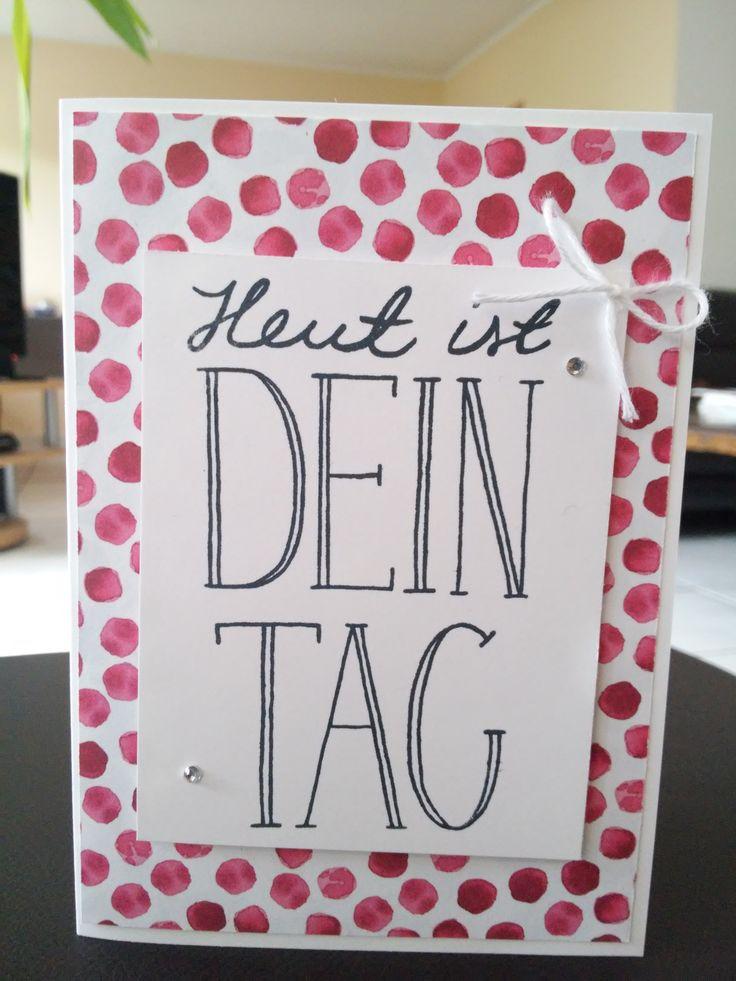 Geburtstagskarte gewerkeltes aus papier pinterest for Pinterest geburtstagskarte