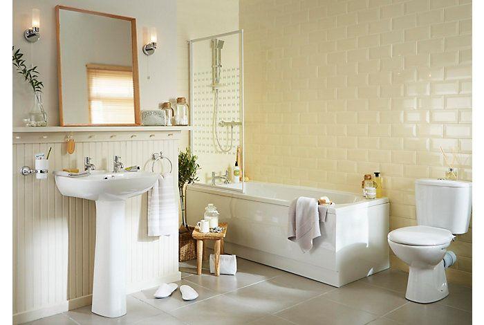 Truro | Bathroom Suites | Bathroom | Departments | DIY at B&Q