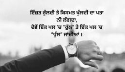 New Punjabi status in Punjabi language